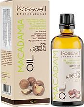 Kup Rewitalizujący olejek do włosów z olejem makadamia - Kosswell Professional Macadamia Oil