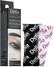 Kup Tradycyjna henna do brwi Czarna - Delia