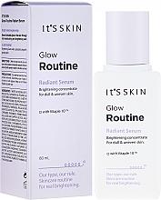 Kup Rozjaśniające serum do twarzy - It's Skin Glow Routine Radiant Serum