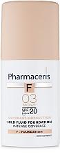 Kup Delikatny fluid intensywnie kryjący SPF 20 - Pharmaceris F