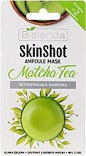 Kup Detoksykująca maseczka do twarzy Herbata matcha - Bielenda Skin Shot