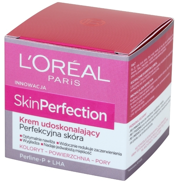 Krem udoskonalający Perfekcyjna skóra - L'Oreal Paris Skin Perfection Perline-P+LHA Cream