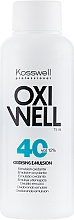 Emulsja utleniająca do włosów 12% - Kosswell Professional Oxidizing Emulsion Oxiwell 12% 40 vol — фото N2