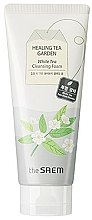 Kup Pianka do mycia twarzy - The Saem Healing Tea Garden White Tea Cleansing Foam