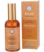 Kup Odmładzający olejek do twarzy i ciała - Khadi Anti-Aging Ayurvedic Rejuvenating Oil