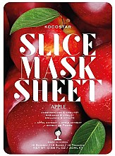 Kup Maska na tkaninie do twarzy Jabłko - Kocostar Slice Mask Sheet Apple