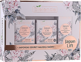 Kup Zestaw - Bielenda Japan Lift 50+ (cr/50ml + cr/50ml + serum/30ml)