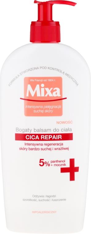 Bogaty balsam do ciała - Mixa Cica Repair Body Balm