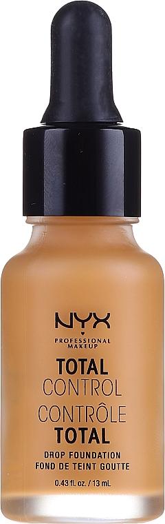 Długotrwały podkład z bazą - NYX Professional Makeup Total Control Drop Foundation