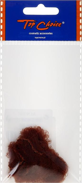 Siateczka do włosów, 3097, brązowa - Top Choice — фото N1