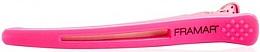 Kup Spinki do włosów z elastyczną wstawką, różowe - Framar Elastic Sectioning Hair Clips