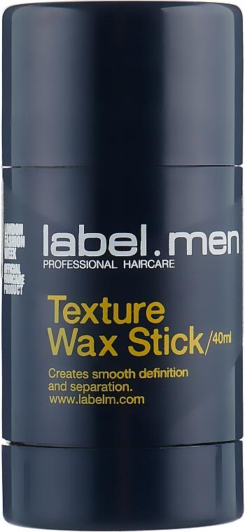 Teksturyzujący wosk wygładzający do włosów - Label M Texture Wax Stick — фото N1
