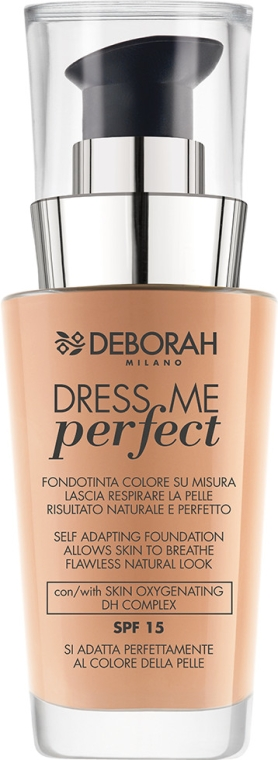 Podkład do twarzy - Deborah Dress Me Perfect Foundation SPF 15