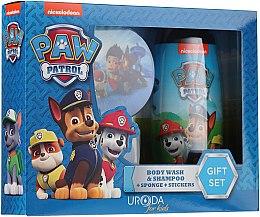 Kup Zestaw do kąpieli dla dzieci - Uroda Paw Patrol Boy (sh/gel 250 ml + sponge + stickers)