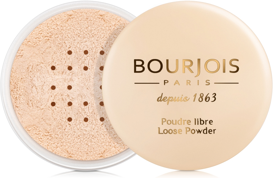 Puder sypki - Bourjois Loose Powder