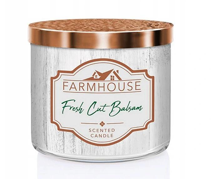 Kringle Candle Farmhouse Fresh Cut Balsam - Świeca zapachowa — фото N1