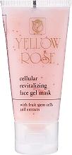 Kup Żelowa maska tonizująca do twarzy (tubka) - Yellow Rose Cellular Revitalizing Gel Mask