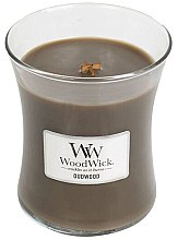 Kup Świeca zapachowa w szkle - WoodWick Hourglass Candle Oudwood