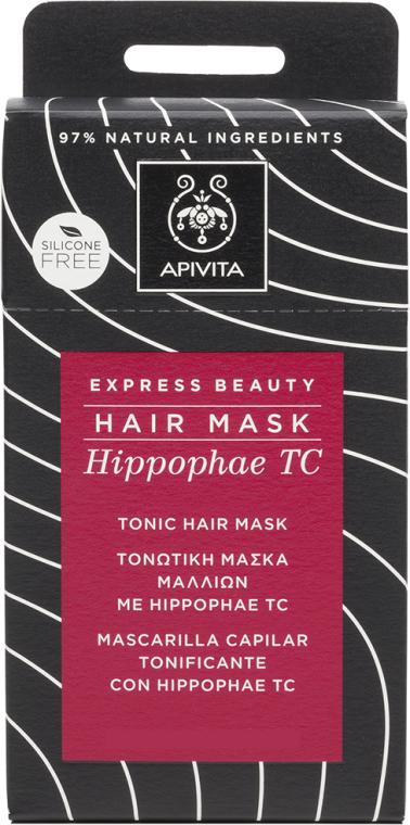 Tonizująca maska do włosów - Apivita Tonic Hair Mask With Hippophae TC — фото N1