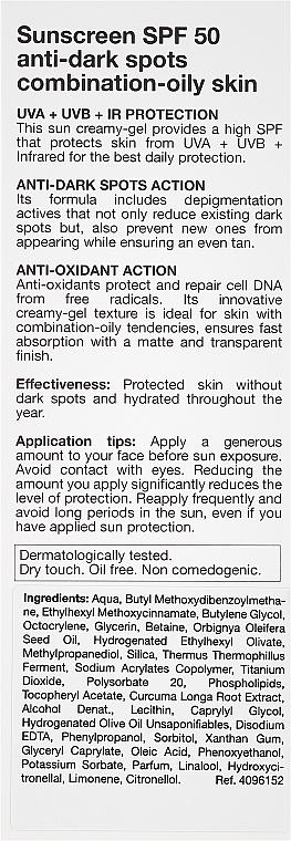 Przeciwsłoneczny krem do cery tłustej SPF 50+ - Bella Aurora Sunscreen Gel Oily Skin — фото N3