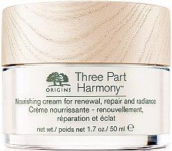 Kup Odżywczy krem do twarzy - Origins Three Part Harmony Nourishing Cream