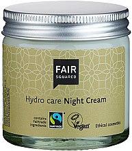 Kup Naturalny wegański krem do twarzy na noc - Fair Squared Hydro Care Night Cream