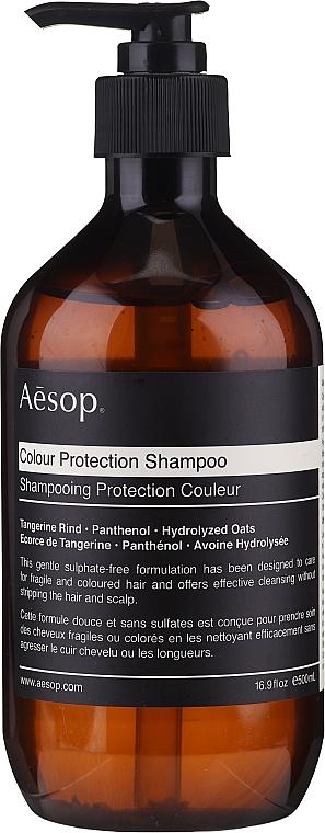 Szampon do włosów farbowanych - Aesop Colour Protection Shampoo — фото N1