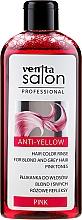 Kup Płukanka do włosów blond i siwych Różowe refleksy - Venita Salon Anti-Yellow