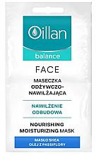Kup Odżywczo-nawilżająca maska do twarzy - Oillan Balance