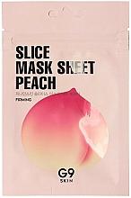Kup Ujędrniająca maseczka do twarzy w płachcie - G9Skin Slice Mask Sheet Peach