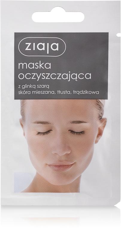 Oczyszczająca maska z glinką szarą - Ziaja