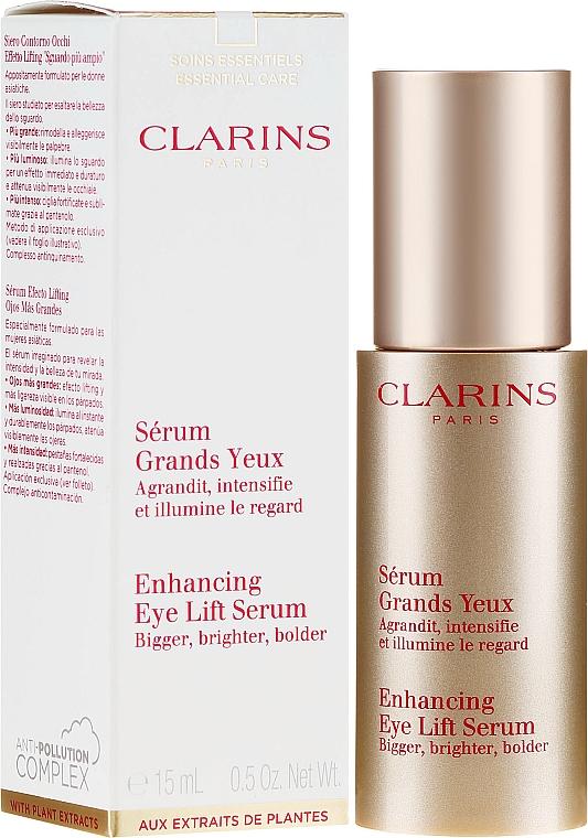 Serum rozświetlające pod oczy - Clarins Enhancing Eye Lift Serum — фото N1
