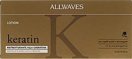 Kup Ampułki odmładzające włosy - Allwaves Reconstructuring Keratin Lotion