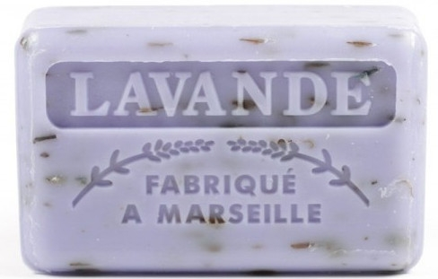 Marsylskie mydło w kostce Lawenda - Foufour Savonnette Marseillaise Lavande — фото N1
