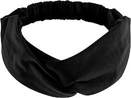 Kup Czarna opaska na głowę Knit Twist - Makeup