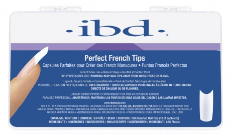 Tipsy do francuskiego manicure - IBD Perfect French Tips — фото N1