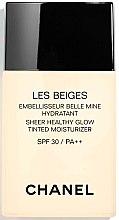 Kup Rozświetlająco-nawilżający krem tonujący do twarzy SPF 30 PA++ - Chanel Les Beiges Sheer Healthy Glow Tinted Moisturizer