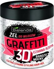 Kup Bardzo mocny żel do włosów Czarna rzepa - Bielenda Graffiti 3D
