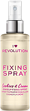 Kup Utrwalacz makijażu w sprayu - I Heart Revolution Fixing Spray Cookies & Cream