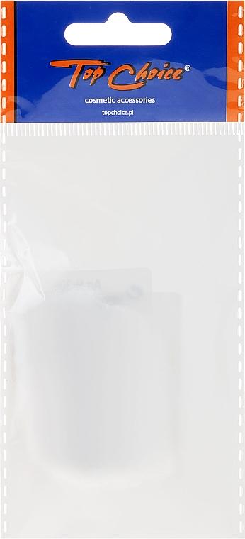 Siateczki do włosów, 3097, 2 szt., białe - Top Choice — фото N1