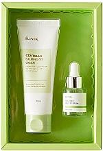 Kup Zestaw - iUNIK Centella Edition Skincare Set (cr/60ml + ser/15ml)