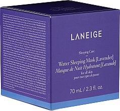 Kup Wodna maska nawilżająca do twarzy na noc z lawendą - Laneige Water Sleeping Mask Lavender
