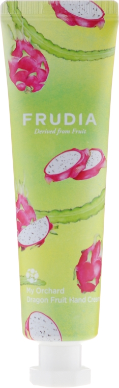 Odżywczy krem do rąk o zapachu smoczego owocu - Frudia My Orchard Dragon Fruit Hand Cream — фото N1
