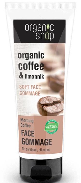 Peeling gommage do twarzy Organiczna kawa - Organic Shop Gommage Face