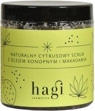 Kup Naturalny cytrusowy scrub z olejem konopnym i makadamia - Hagi Piąty żywioł