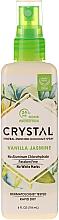 Kup Mineralny dezodorant w sprayu do ciała Wanilia i jaśmin - Crystal Mineral Deodorant Spray Vanilla Jasmine