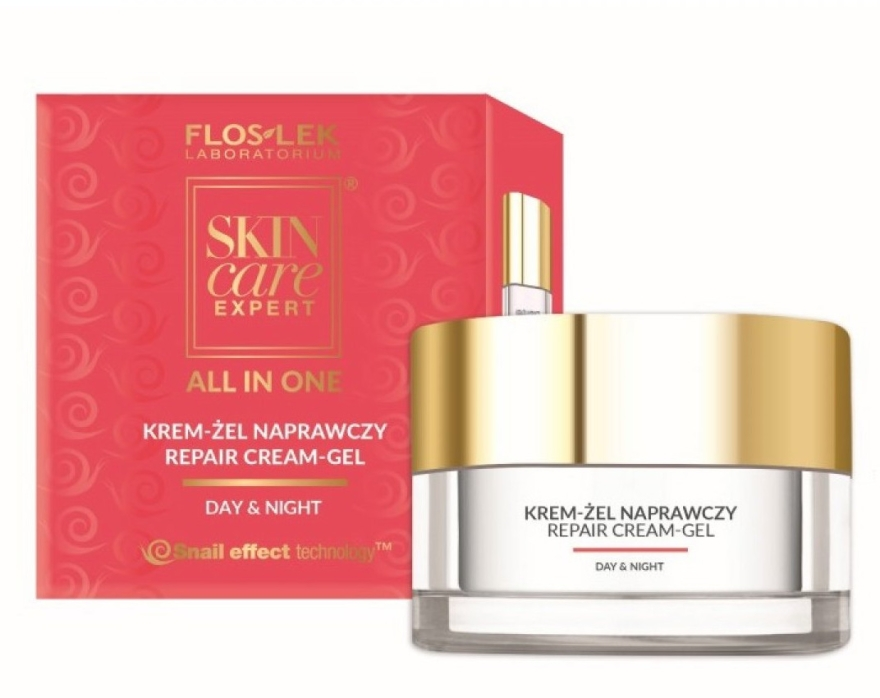 Krem-żel naprawczy do twarzy - Floslek Skin Care Expert All In One