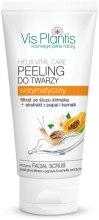 Kup Peeling enzymatyczny do twarzy z filtratem ze śluzu ślimaka i ekstraktami z papai i kamelii - Vis Plantis Helix Vital Care