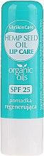 Kup Regenerujący balsam do ust z organicznym olejem z konopi SPF 25 - GlySkinCare