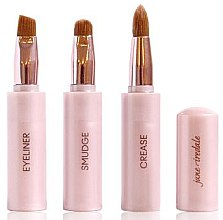 Kup Kompaktowe pędzle do makijażu 3 w 1 - Jane Iredale Brush Snappy Wand 3 in 1 Limited Edition
